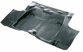 67-69 Camaro Molded Trunk Mat