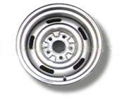 """67-69 Camaro Rally Wheel 15"""" x 8"""" Silver"""