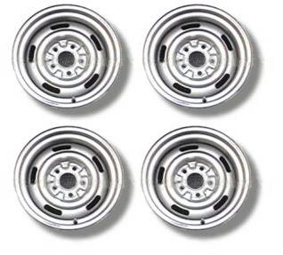 "67-69 Camaro Rally Wheel Set (15"" Chrome)"