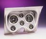 67-68 Camaro Brushed Aluminum Classic Dash with Carbon Fiber Autometer Gauges