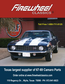67-69 Camaro Parts and Accessories Catalog