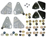 68-69 F-body Complete Door Glass Mounting Plate and Hardware Set