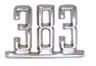 67 Camaro Fender '502' and '383' Emblem, Repro