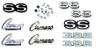 69 Camaro SS-396 Emblem Kits