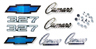 69 Camaro Standard Emblem Kit