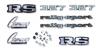 69 Camaro Rally Sport Emblem Kit