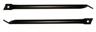 67-69 Camaro Fender Support Bars, Black, pr.