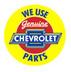 We Use Genuine Chevrolet