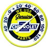 We Use Genuine Chevrolet Parts Thermometer