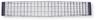 68 Camaro RS Center Grill w/Silver Accents