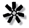 """7 Blade-18"""" Cooling Fan Blade - Reproduction"""