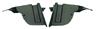 69 Camaro RS Actuator Shields, pair