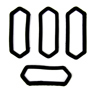 69 Camaro Side Marker Gasket Set