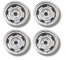 "67-69 Camaro Rally Wheel Set (14"" Chrome)"