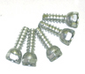 67 Camaro Center Cap Ornament Screws, each