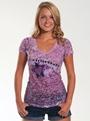 Ladies Camaro Sublimation Burnout T-Shirt