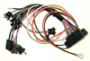 67-69 Camaro Console Harness with Gauges - Manual-Factory Gauges